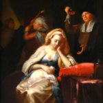 Godfried Schalken, Dutch, 1643-1706, 'The Doctor's Visit', Oil On Canvas. Sold For $27,600.
