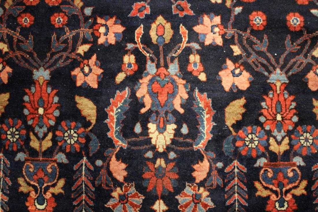 Hamadan-Malayer Carpet, Circa 1900. Sold For $3,875