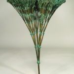 Harry Bertoia, American, 1915-1978, 'Broccoli', C. 1960's, Melted Bronze-Alloy Base. Sold For $90,000.