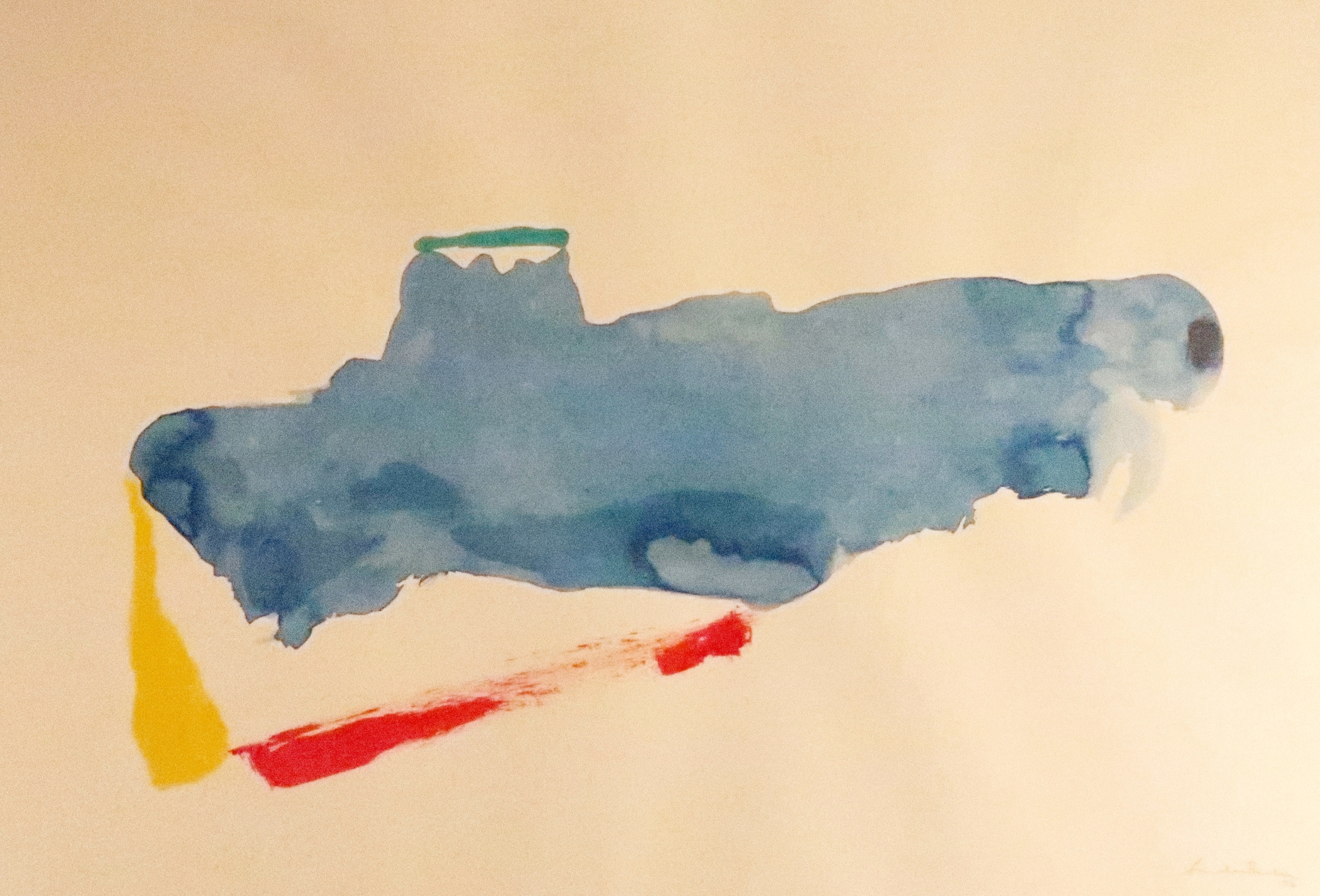 Helen Frankenthaler (1928-2011) New York VI. Sold For $40,000 At Capsule Gallery Auction
