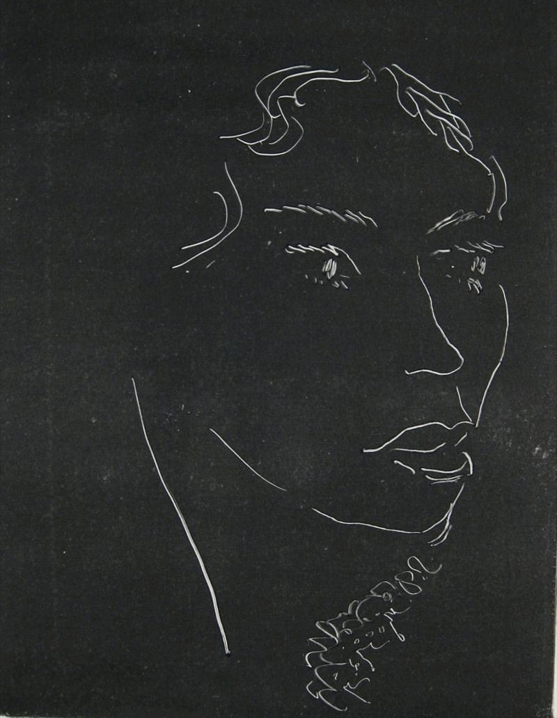 Henri Matisse, French, 1869-1954, 'Head Of A Woman', 1914, Monotype Print. Sold For $23,400.