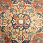 Heriz Carpet, Circa 1900. Sold For $3,875
