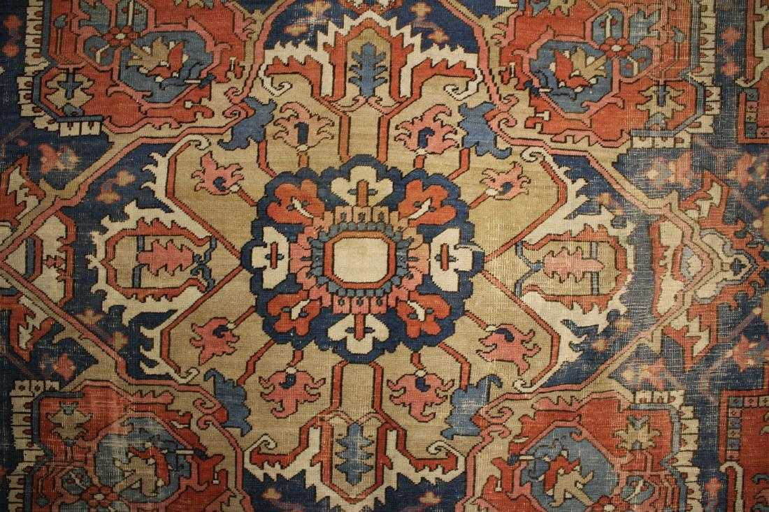 Heriz Carpet, Circa 1900. Sold For $3,875