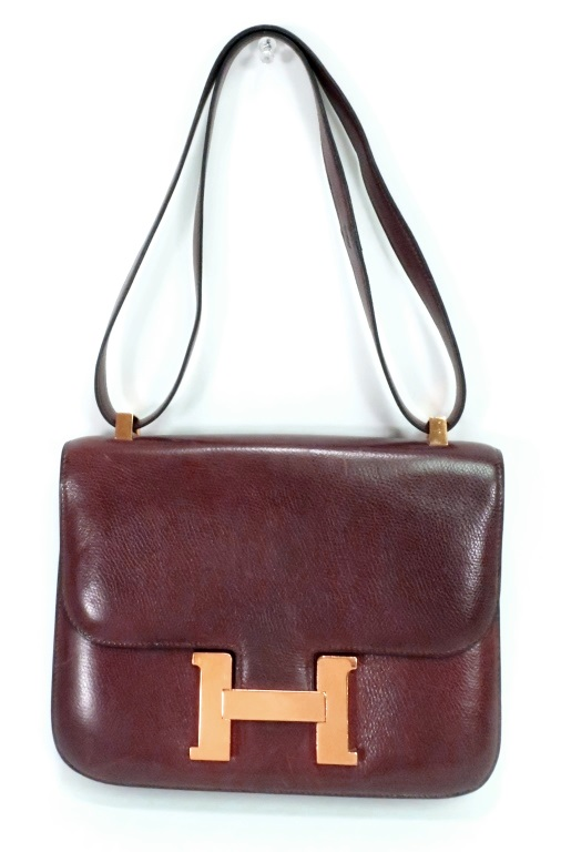 Hermes Brown Constance Handbag, Sold For $2,000