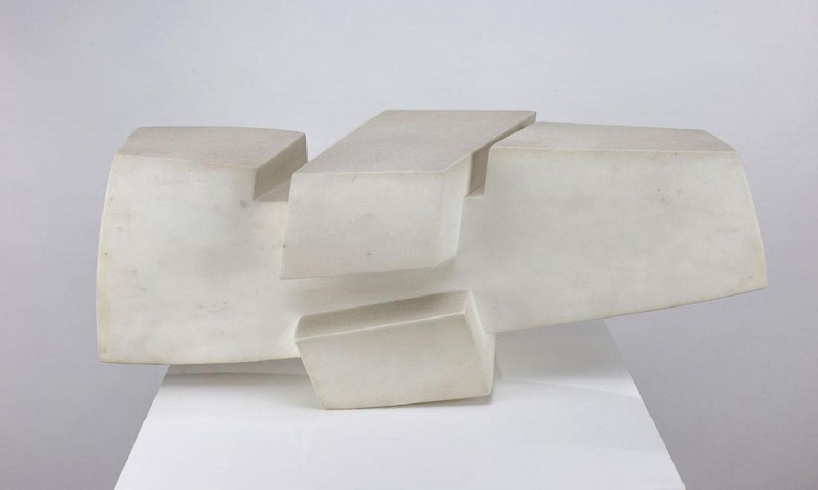 James Rosati (American, 1912-1988) Marble Sculpture, 1965. Sold For $9,375 At Capsule Gallery Auction