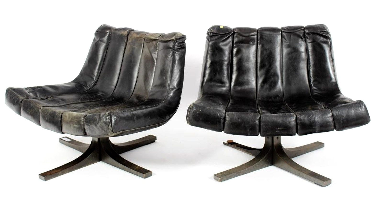 Javier Carvajal, Pair Of Lounge Chairs. Sold For $3,750