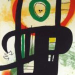 Joan Miro, Spanish, 1893-1983, 'Le Grand Ordinateur' 1969 Etching, Aquatint & Carborundum. Sold For $30,000.