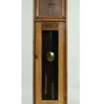 L. & J. G. Stickley Oak And Etched Copper Tall Case Clock, American, C. 1912. Sold For $9,375.