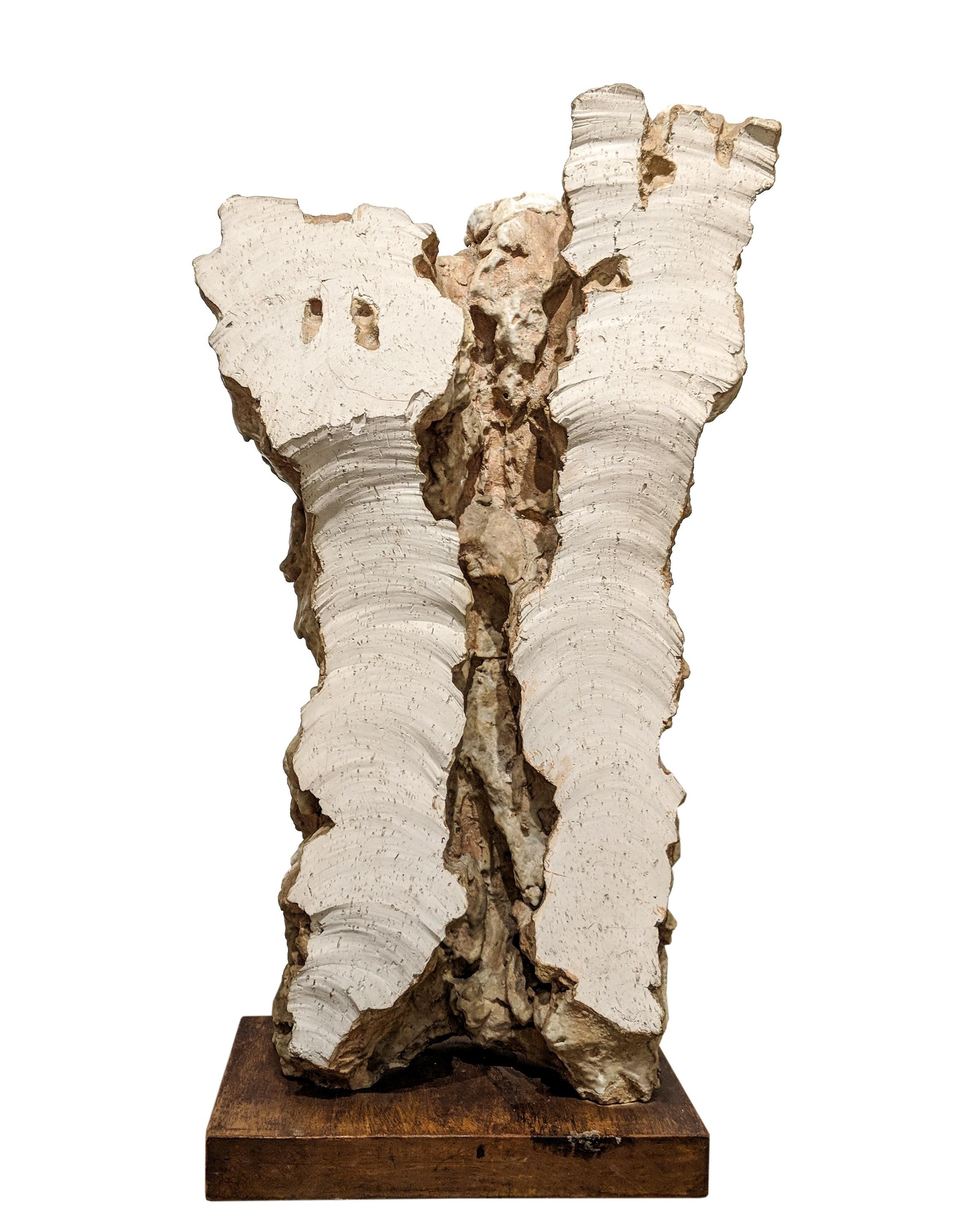 Leoncillo Leonardi (Italian, 1915-1968) Taglio Bianco, 1962. Sold For $168,750 At Partner Capsule Gallery Auction