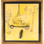Ludwig Bemelmans, One Day The Spanish Ambassador, Watercolor. Sold For $5,750