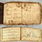 Manuscript Journal By Philow Tousey, American, 18th C., 'His Book 1771, Gamit Of Rule'. Sold For $2,281.