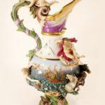 Massive Meissen Ewer. Sold For $8,437