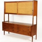 Mid Century Modern Danish Cabinet. Sold For $2,750