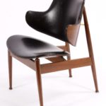 Mid Century Modern Danish Chair After Finn Juhl
