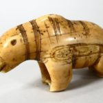 Native American Carved Ivory Bear Figure, Northwest Coast, Late 19th Or Early 20th C. Sold For $2,251.