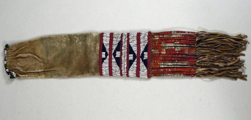 Native American Pipe Bag, Possibly Cheyenne, Late 19th-Early 20th C. Sold For $1,125.