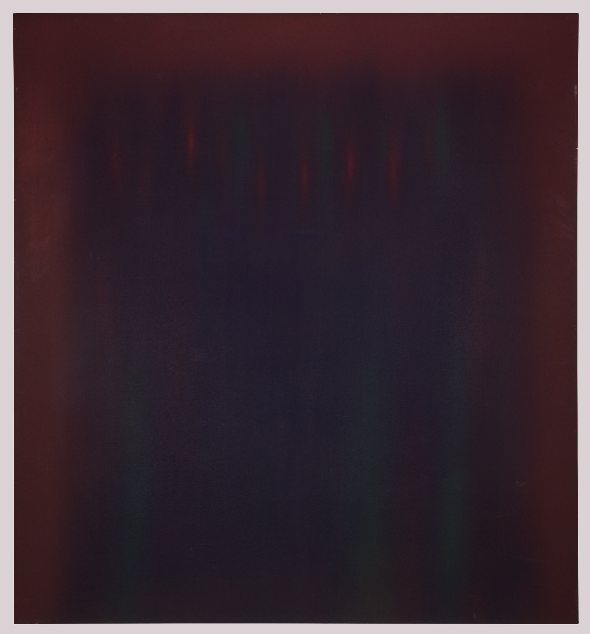 Natvar Bhavsar, Untitled 1984. Sold For $15,000 At Capsule Gallery Auction