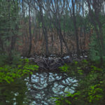 Neil Welliver, (American, 1929-2005) Beaver Pond. Sold For $22,500 At Partner Capsule Gallery Auction