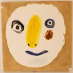 Pablo Picasso, Polychromatic Head, Madoura Tile. Sold For $5,250
