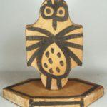Pablo Picasso, Spanish, 1881-1973, Spotted Owl Sculpture (Tomette L'hibou Ceramique). Sold For $46,800.