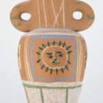 Pablo Picasso Vase Au Decor Pastel 1953. Sold For $12,000 At Capsule Gallery Auction