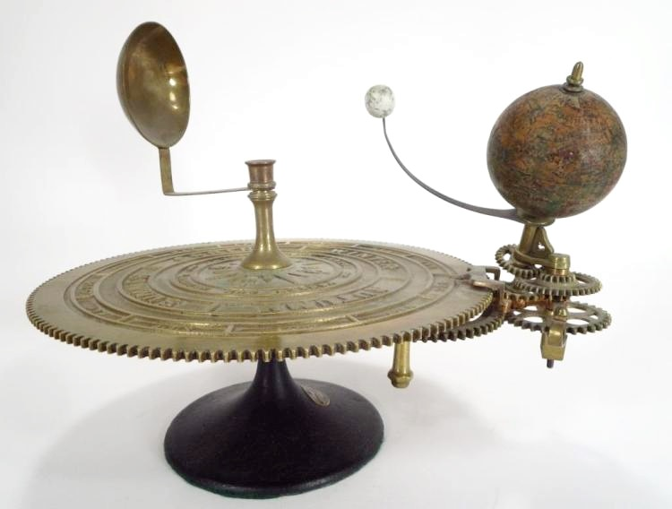 Parks And Hadley Orrery, 19th C., With Globe & Sun, Sold For $3,125
