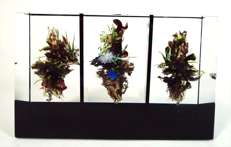 Paul Stankard, American, B. 1943, Marshlands Bouquet, Paperweight. Sold For $4,250.