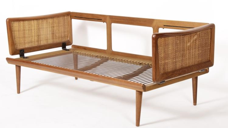 Peter Hvidt For France And Sons Daybed Settee, Sold For $2,375