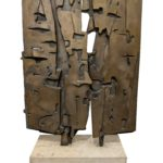 Pietro Consagra (Italian 1920-2005) Colloquio Davanti Lo Speccio, Bronze. Sold For $109,375 At Partner Capsule Gallery Auction