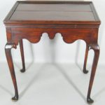 Queen Anne Tea Table, 18th C., Litchfield County, CT. Sold For $59,400.