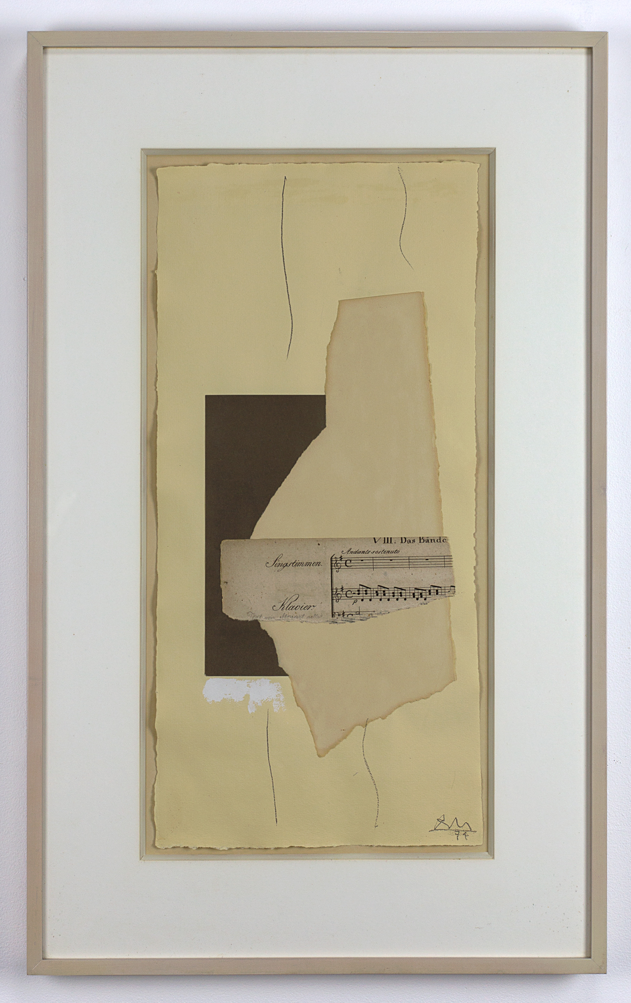 Robert Motherwell Cabaret #4 1974. Sold For $23,750 At Capsule Gallery Auction