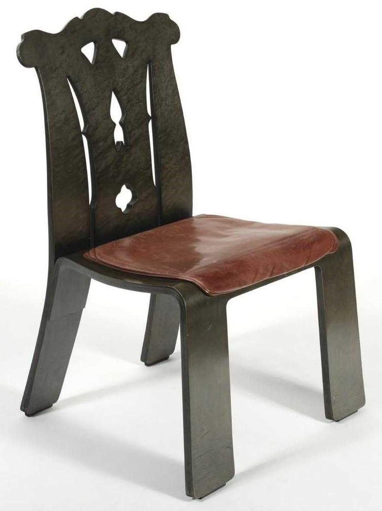 Robert Venturi, Knoll Chippendale Chair, C.1985. Sold For $2,500