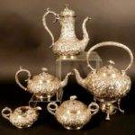 S. Kirk And Son Repousse 5-Pc. Tea Set. Sold For $3,750