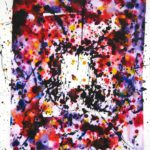 Sam Francis, American, 1923-1994, 'Untitled, SF-76-338', Acrylic On Paper. Sold For $58,800.