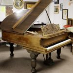 Steinway Model A Victorian Parlor Grand Piano, Sold For $6,875