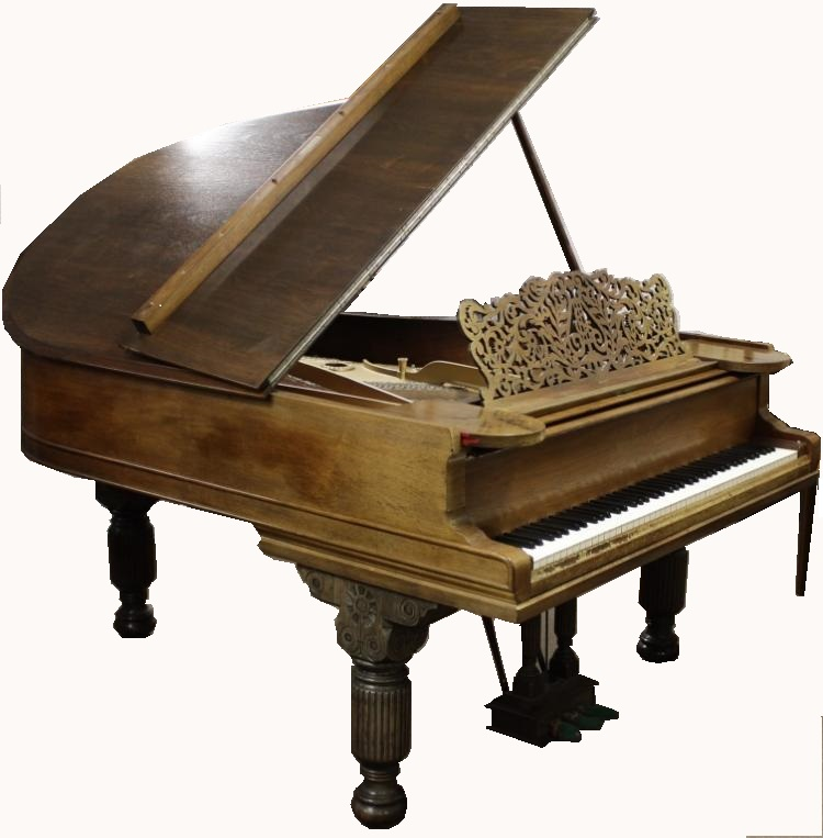 Steinway Model A Victorian Parlor Grand Piano. Sold For $6,875