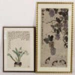 Two Asian Watercolors On Paper. Sold For $13,750