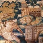 Verdure Tapestry Panel, Brussels, 17th-18th C. Sold For $5,000