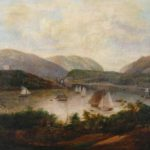 Victor De Grailly, 1804-1889, Hudson River At West Point, Circa 1840. Sold For $4,750.