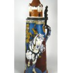 Villeroy & Boch Mettlach Stein, 19th-20th C. Sold For $2,346.