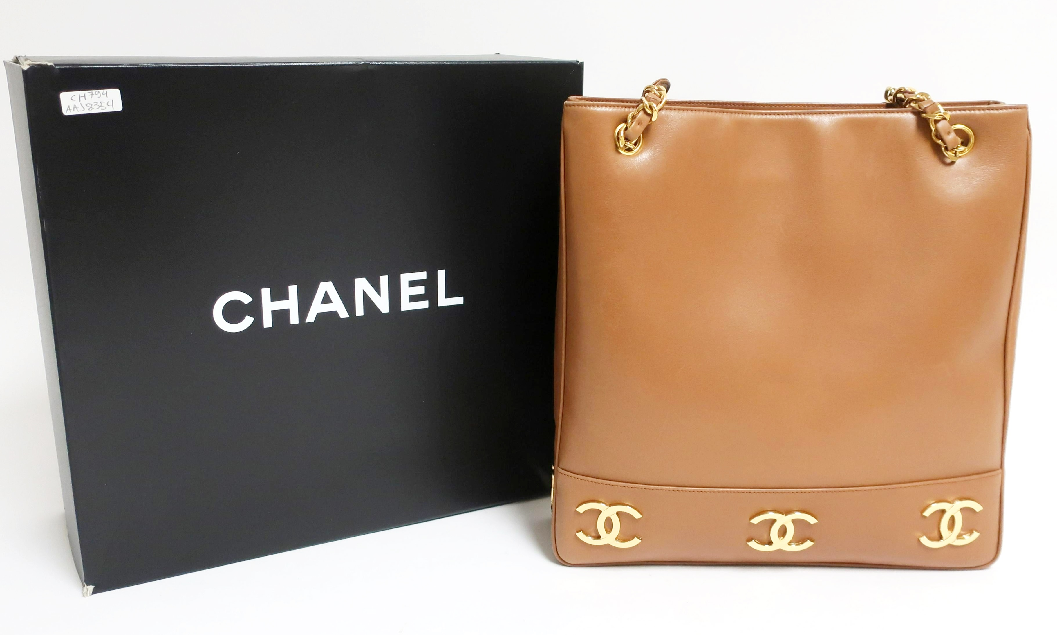Vintage Chanel Shoulder Tote. Sold For $2,080