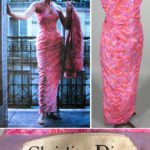 Vintage Couture Christian Dior Silk Evening Dress & Jacket. Sold For $843.