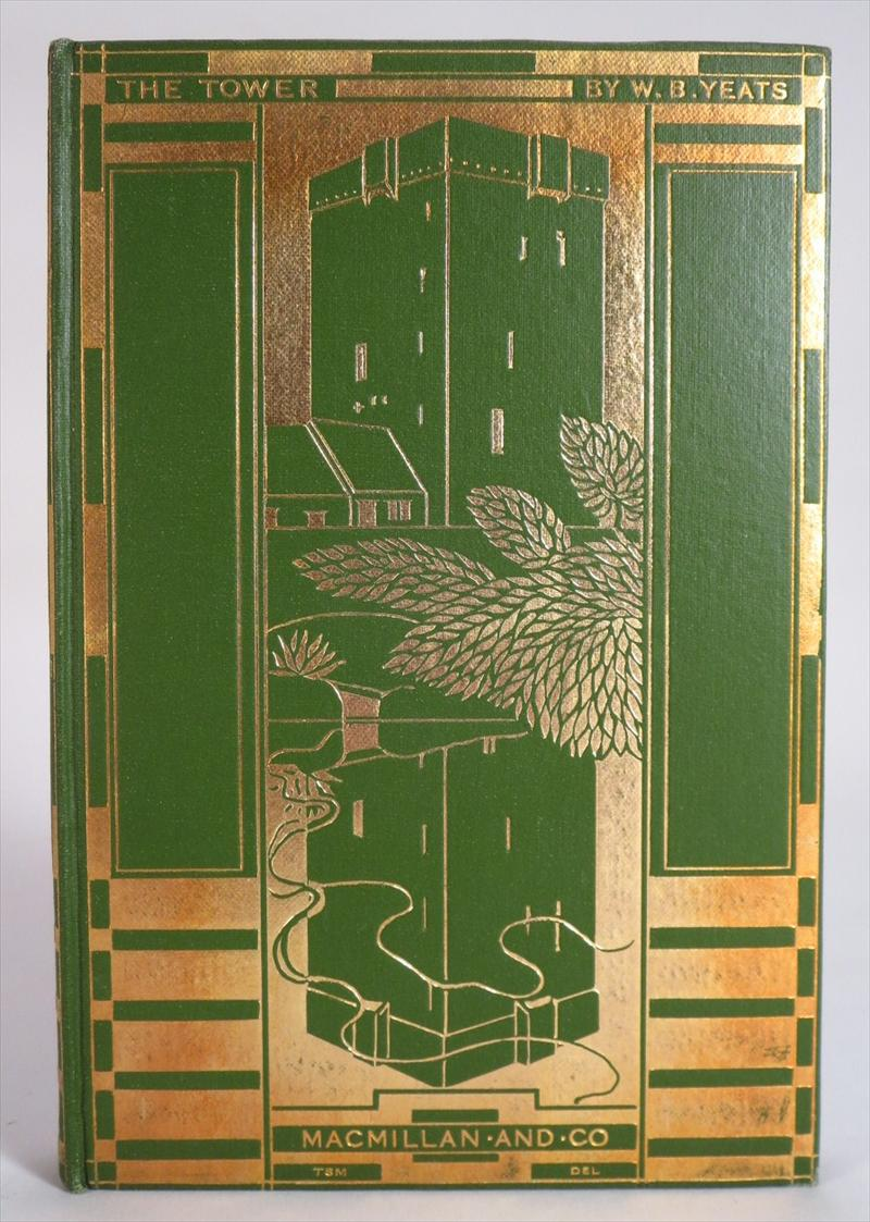 Wm. Butler Yeats, The Tower, 1928, First Edition. Sold For $2,125.