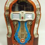 Wurlitzer Jukebox, New York, 20th C., Multi-Selector Phonograph, Model 1080. Sold For $5,125.