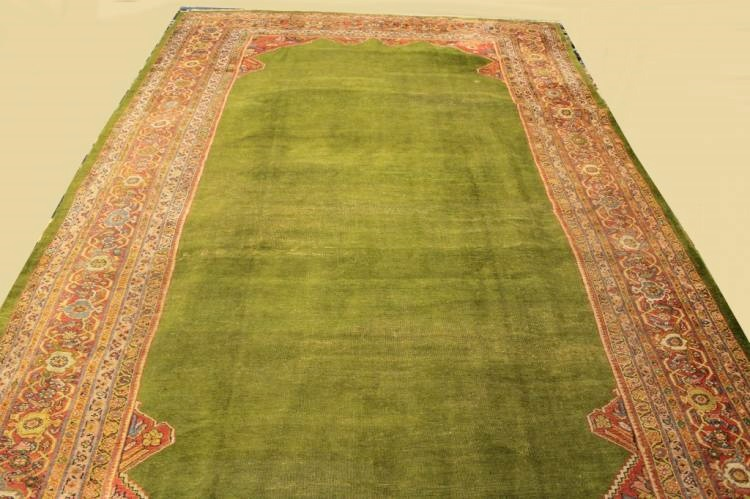 Zieglar Mahal Wool Pile Carpet, Sold For $3,875