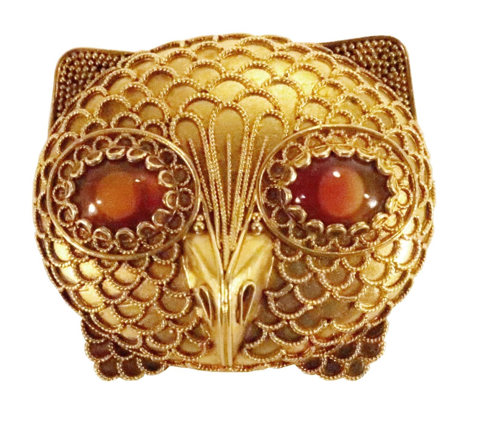 Gold And Agate Pendant Brooch, Castellani, Circa 1855.2
