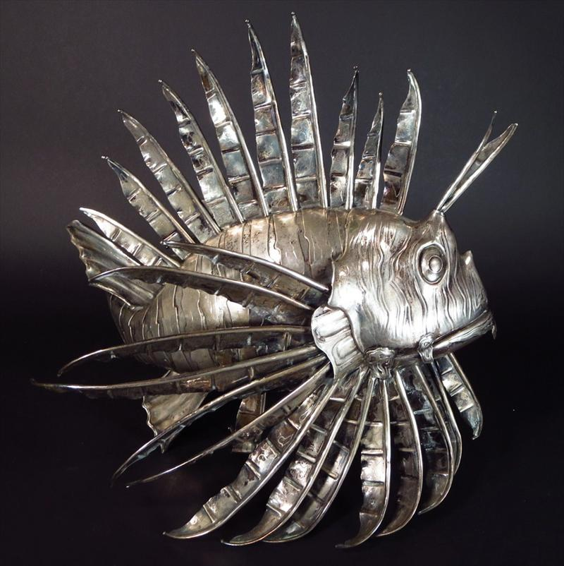 Italian .800 Silver Figure Of A Fish, Sold For $4,125