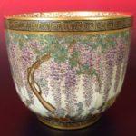 Satsuma Japanese Earthenware Vase, 1920th C.