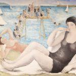 Alice Halicka, Polish, 1894-1975, Beach Scene