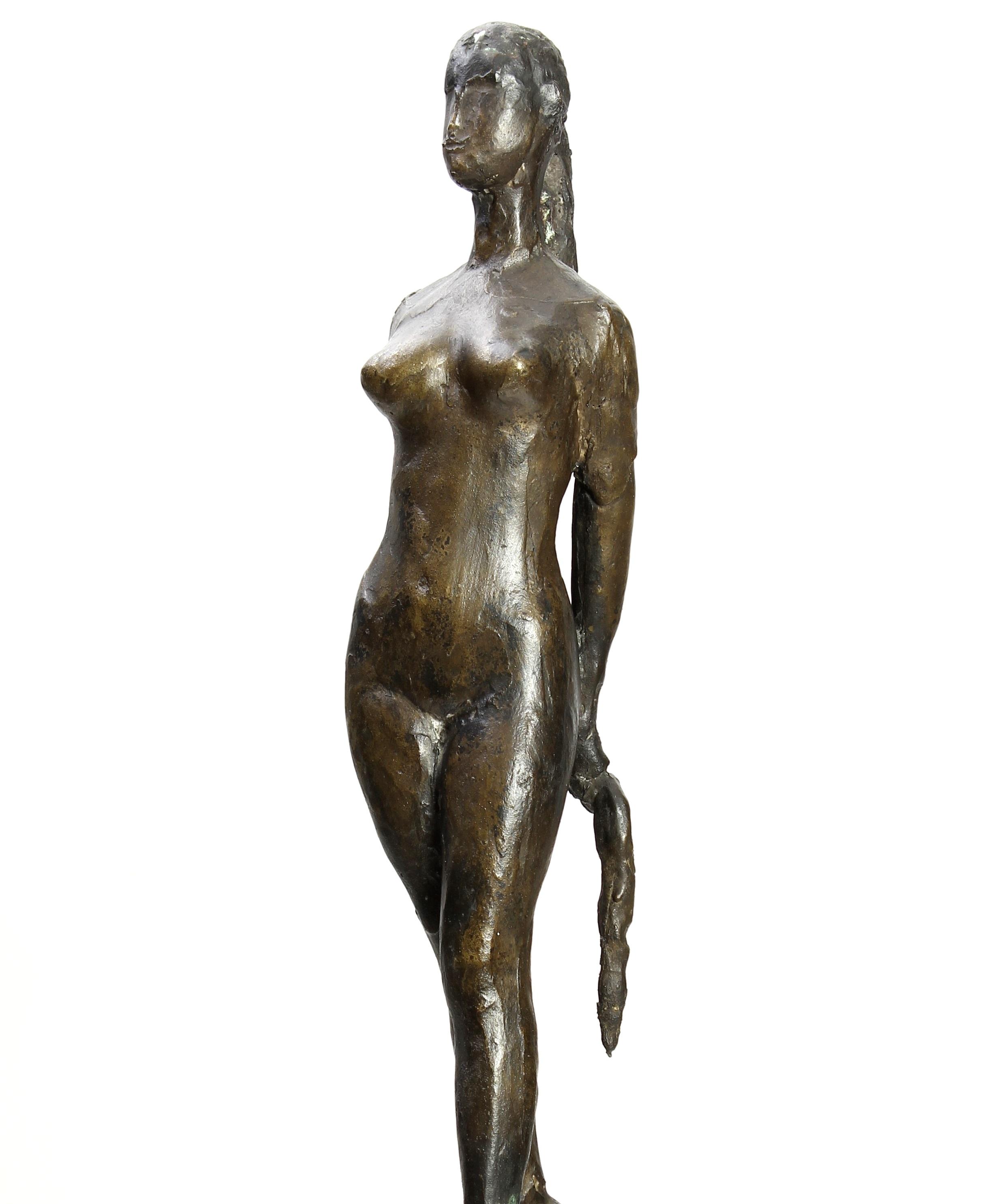 Giacome Manzu, Italian, 1908-1991, 'Passo Di Danza' Bronze. Estimate $20,000-30,000.3